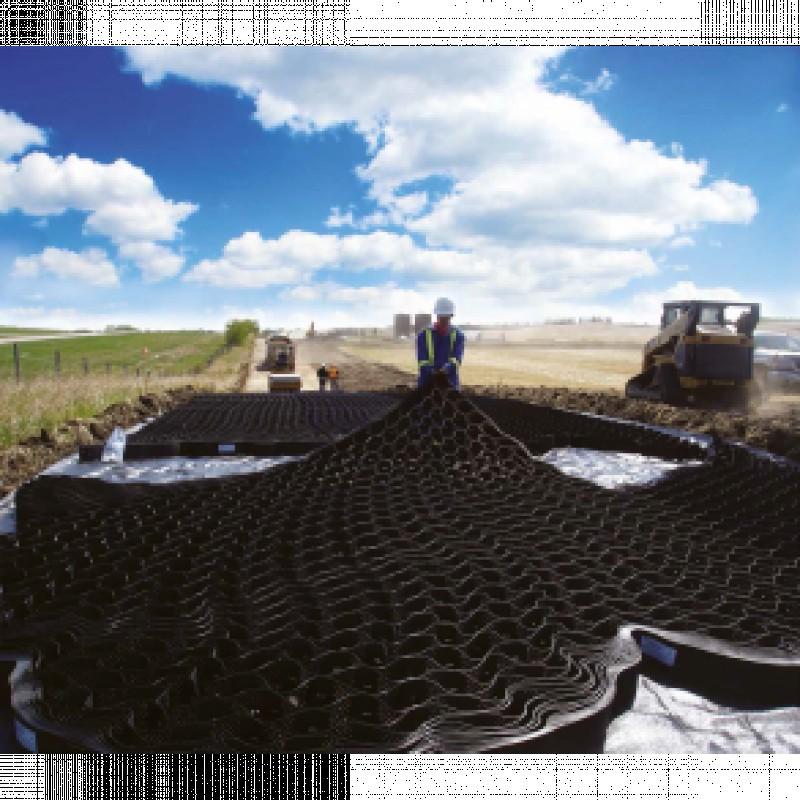 Nykilde Geosystems til sikring af skrånende arealer