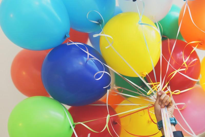 Sådan finder du den rigtige type af balloner til din fest